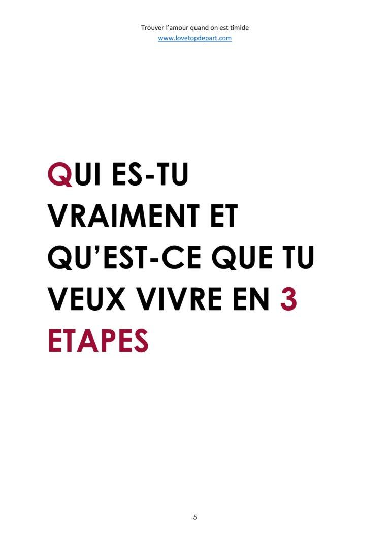 """Extrait 3 - Ebook : """"Trouver l'amour quand on est Timide"""""""
